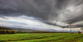 Burz Chmury Fotografia Stock