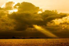 Burz chmury Zdjęcie Stock