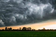 Burz chmury Obrazy Stock