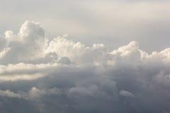 Burz chmury przed burzą obrazy stock