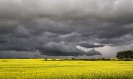 Burz chmury Saskatchewan obrazy royalty free