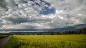 Burz chmury tworzy nad Śródpolnym czasu upływem zdjęcie wideo