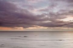 Burz morza Obrazy Royalty Free
