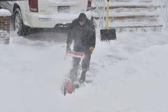 Burza śnieżny Juno Obraz Stock