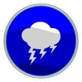 burza ikony Obraz Stock