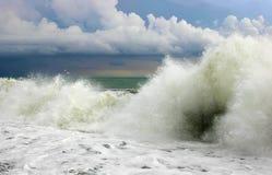 burza morska Obraz Royalty Free