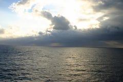 burza morska Fotografia Royalty Free
