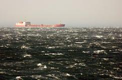 burza morska Zdjęcia Royalty Free