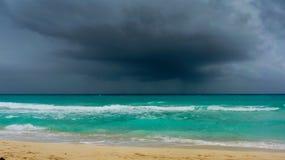 Burza na Atlantyckim oceanie Zdjęcia Stock