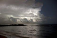 Burza na morzu Obrazy Royalty Free