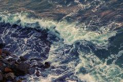 Burza na oceanie Fotografia Stock