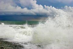 burza oceanu Zdjęcie Royalty Free