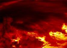 burza ognia ilustracja wektor