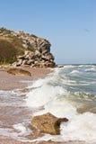Burza om morze Zdjęcie Royalty Free
