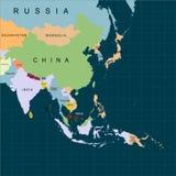 Burza Pabuk uderzać południowego Tajlandia Huragan - burza Pabuk Huragan szkoda również zwrócić corel ilustracji wektora royalty ilustracja