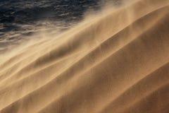burza piaskowa Zdjęcia Stock