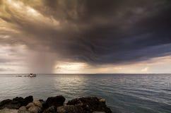 Burza połów Zdjęcia Stock