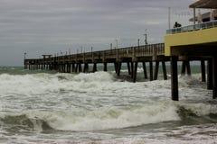 Burza przy morzem Obraz Stock