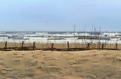 Burza przy morzem Fotografia Stock