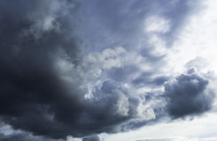 Burza przychodzi Fotografia Royalty Free