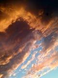 Burza przychodzi Zdjęcia Stock
