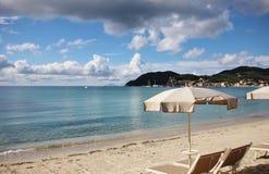 Burza przyjeżdża w Elba wyspie obrazy royalty free