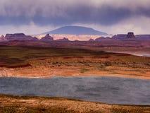 burza purpurowy Zdjęcie Royalty Free