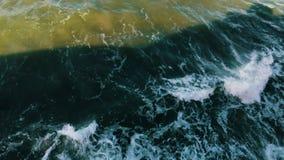 Burza w Finlandia zatoce Odgórny widok zbiory