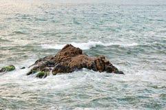 Burza w morzu Obraz Stock