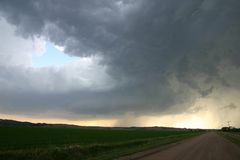 burza w nebrasce Zdjęcie Stock