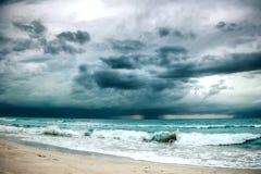 Burza w oceanie Obraz Royalty Free