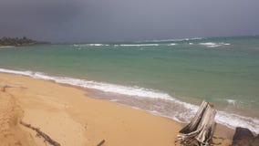 Burza w odległości Zdjęcia Royalty Free