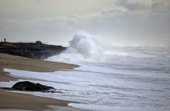 Burza w wybrzeżu Obrazy Stock