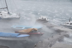 burza wiatr Zdjęcie Stock