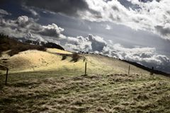 burzliwe krajobrazu zdjęcie royalty free