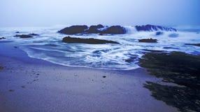 burzliwe morza Obraz Royalty Free