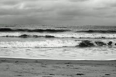 burzliwe morza Zdjęcia Royalty Free