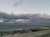 burzliwe morza Obrazy Stock