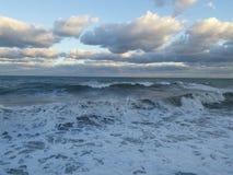 burzliwe morza Fotografia Royalty Free