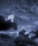 burzliwe niebo Fotografia Stock