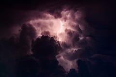 burzliwe niebo Zdjęcie Royalty Free