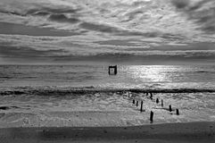 burzliwe oceanu Fotografia Royalty Free