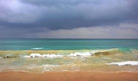 burzliwe oceanu Zdjęcia Royalty Free