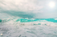 burzliwe oceanu Zdjęcie Stock