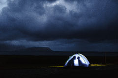 burzowa noc Zdjęcie Stock