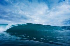 burzowa ocean fala Obraz Stock