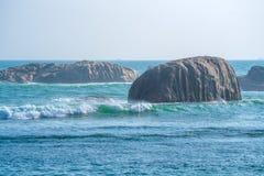 Burzowa oceaniczna kipiel Zdjęcie Royalty Free