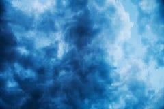 Burzowe chmury Obrazy Royalty Free