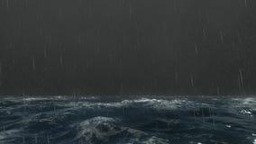 burzowi mórz ilustracja wektor