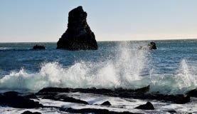burzowi mórz zdjęcie royalty free